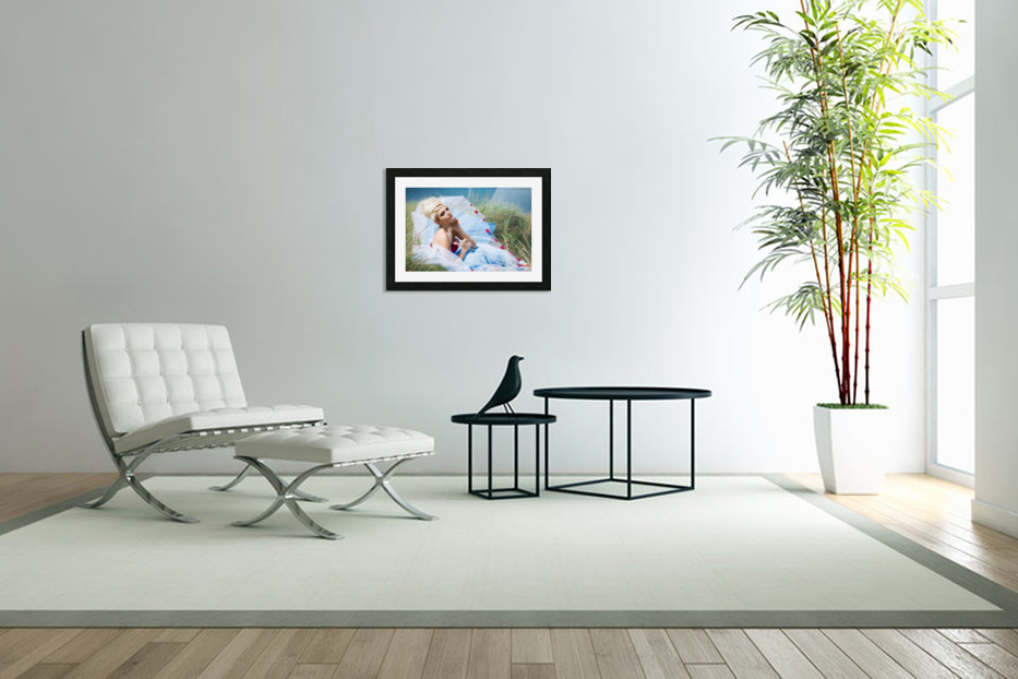 Summer Breeze in Custom Picture Frame