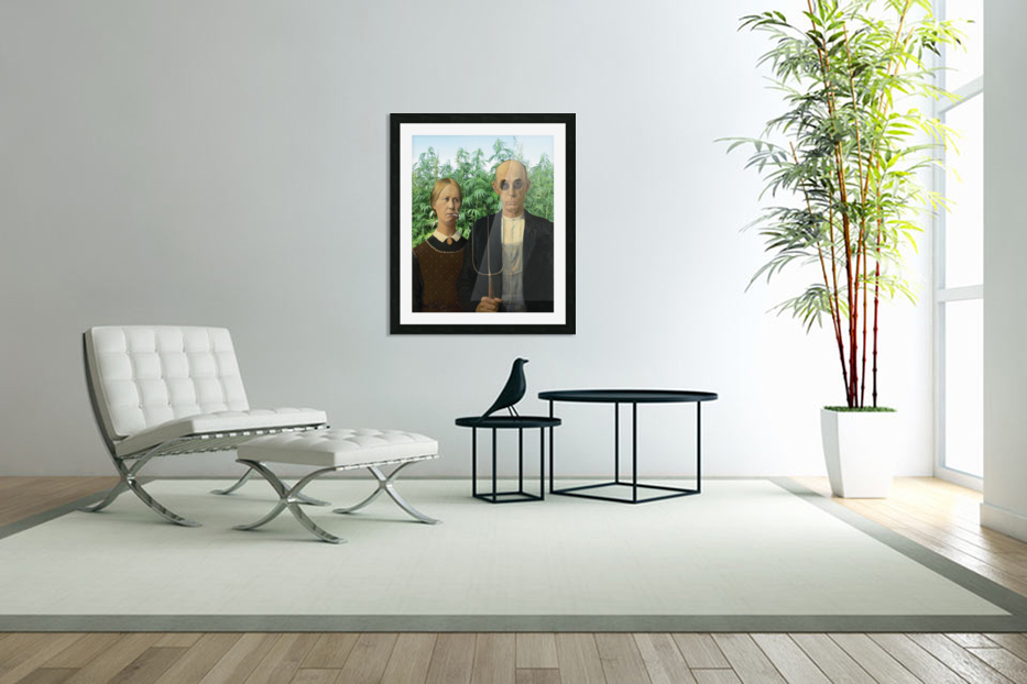 Modern Day Farmers in Custom Picture Frame
