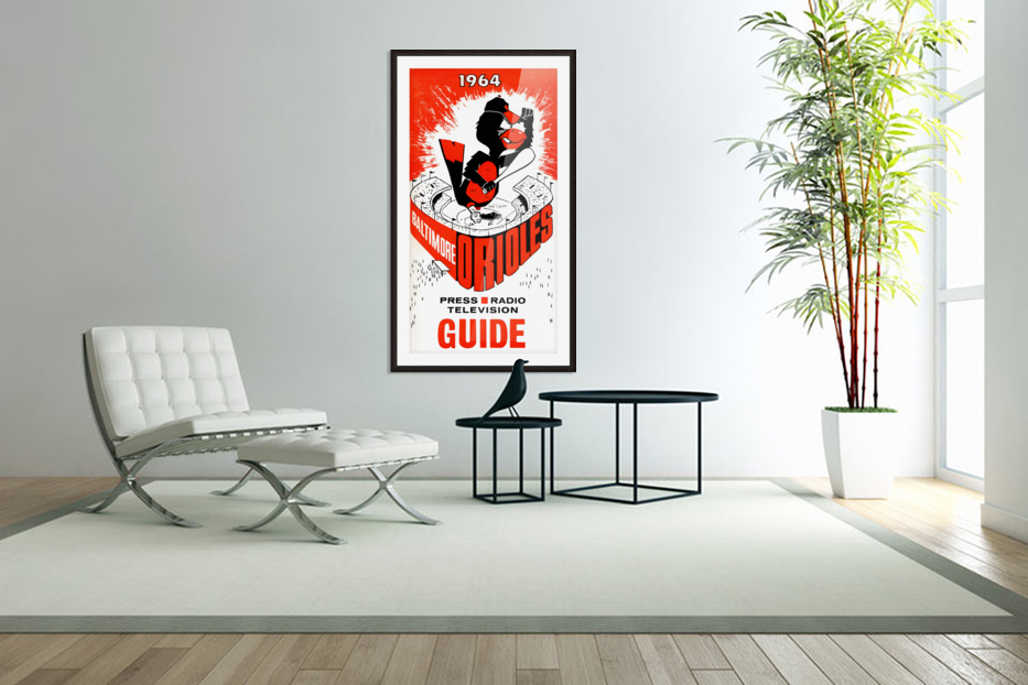 1964 baltimore orioles in Custom Picture Frame