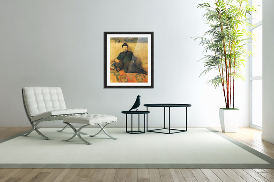 Gustave Lucien Dennery by Toulouse-Lautrec in Custom Picture Frame