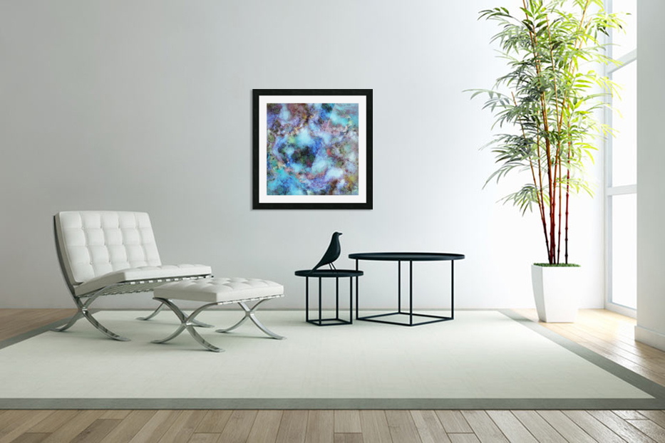 Tangled air in Custom Picture Frame