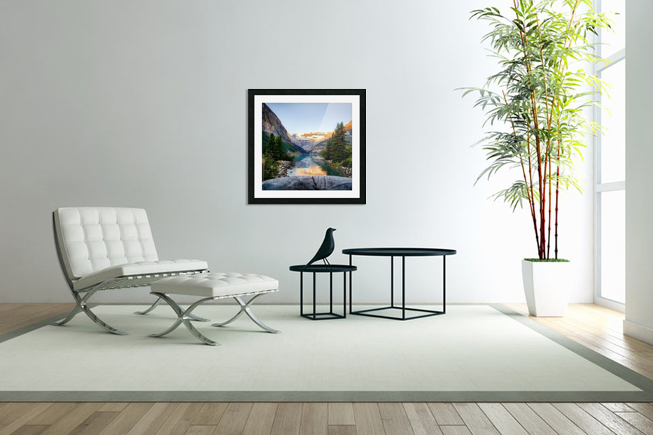 Lake Louise  in Custom Picture Frame