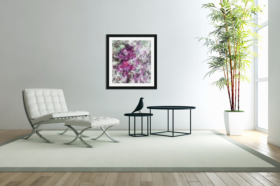 The quiet purple clouds in Custom Picture Frame