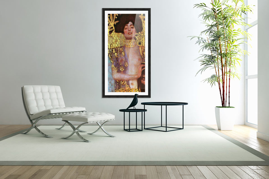 Judith by Klimt in Custom Picture Frame
