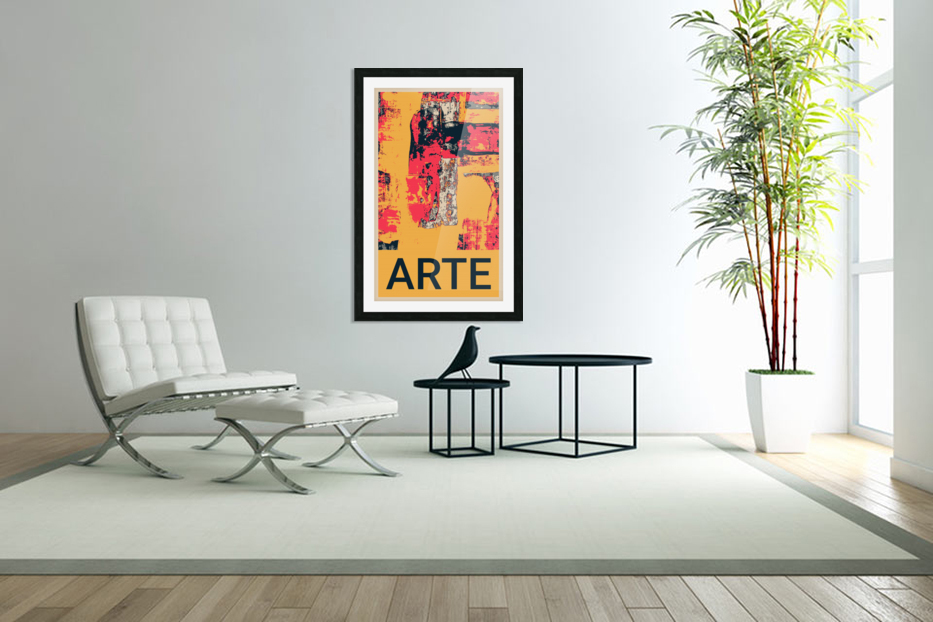 ARTE -17  in Custom Picture Frame