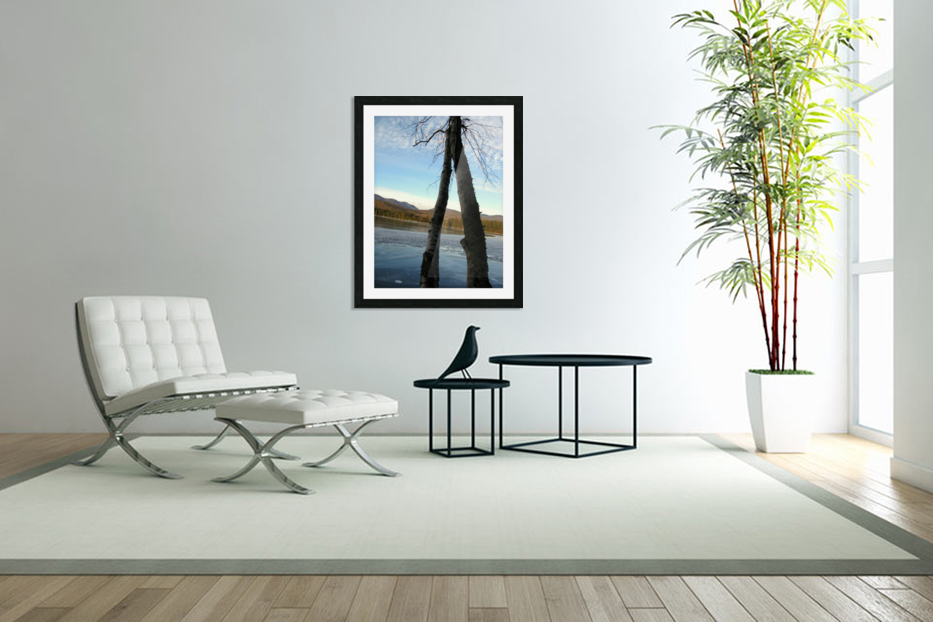 Love at the Lake in Custom Picture Frame