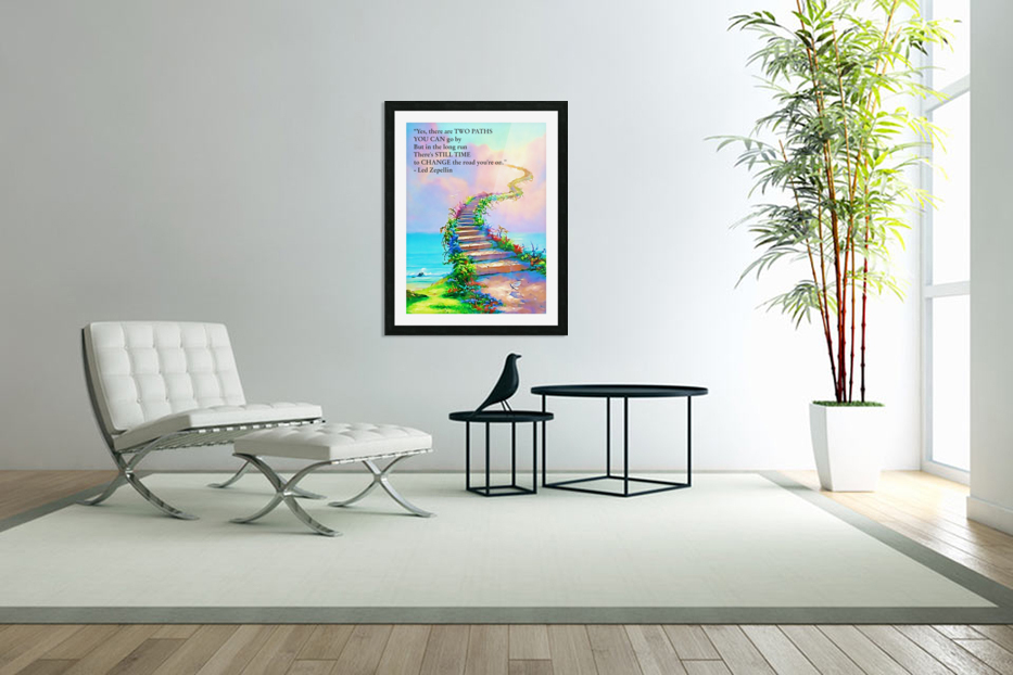 Stairway To Heaven in Custom Picture Frame