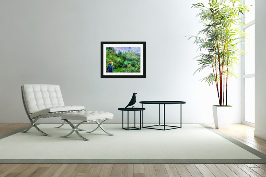 A Walk In The Countryside in Custom Picture Frame