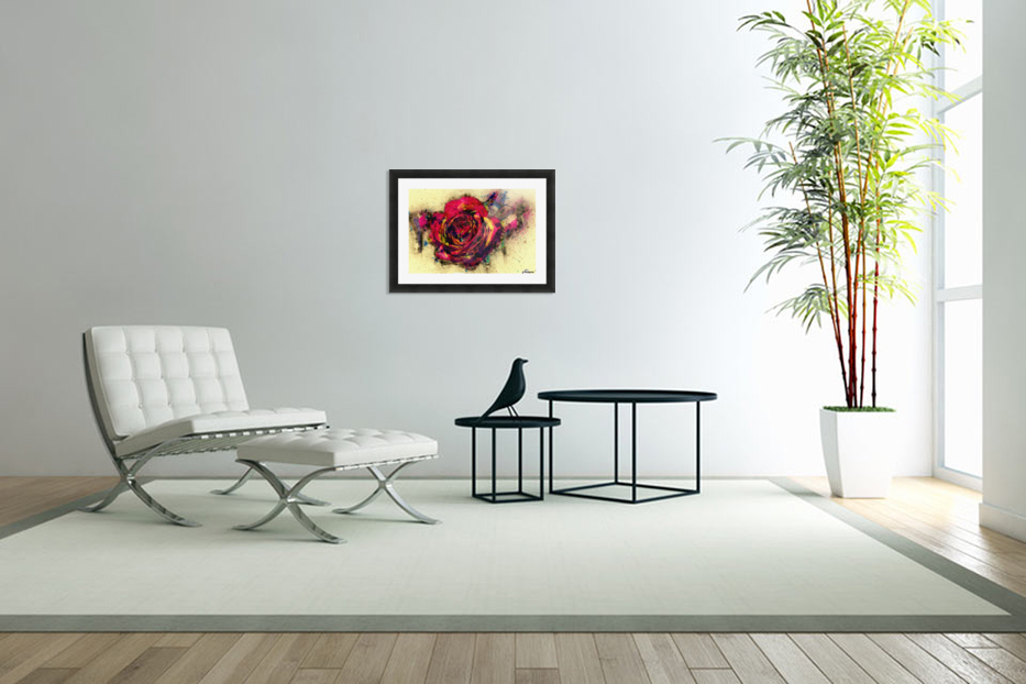 abstract rose in Custom Picture Frame
