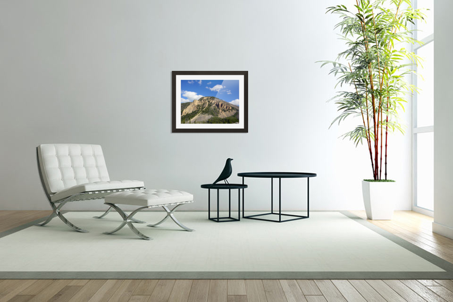 Yellowstone National Park 2 in Custom Picture Frame