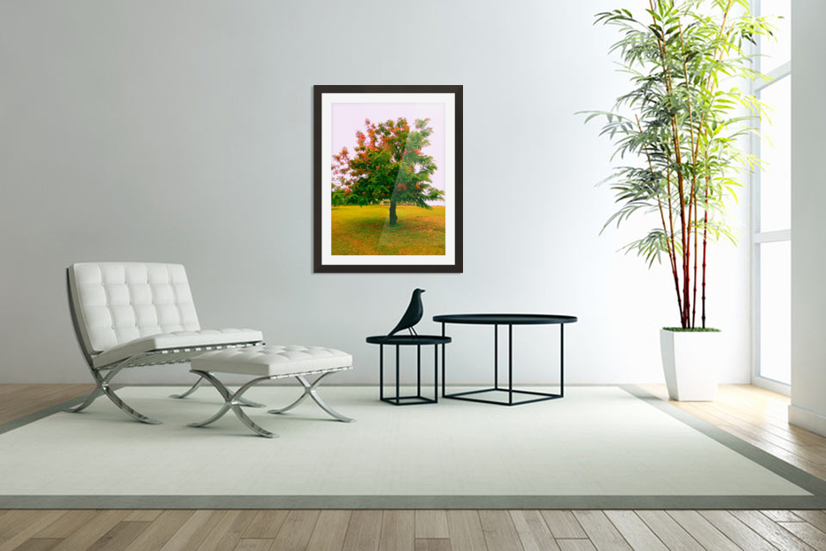 Blossoms in Custom Picture Frame
