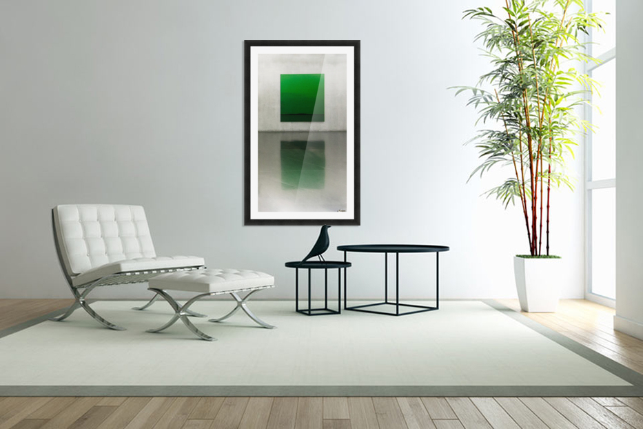 Green by Toni Guerra  in Custom Picture Frame