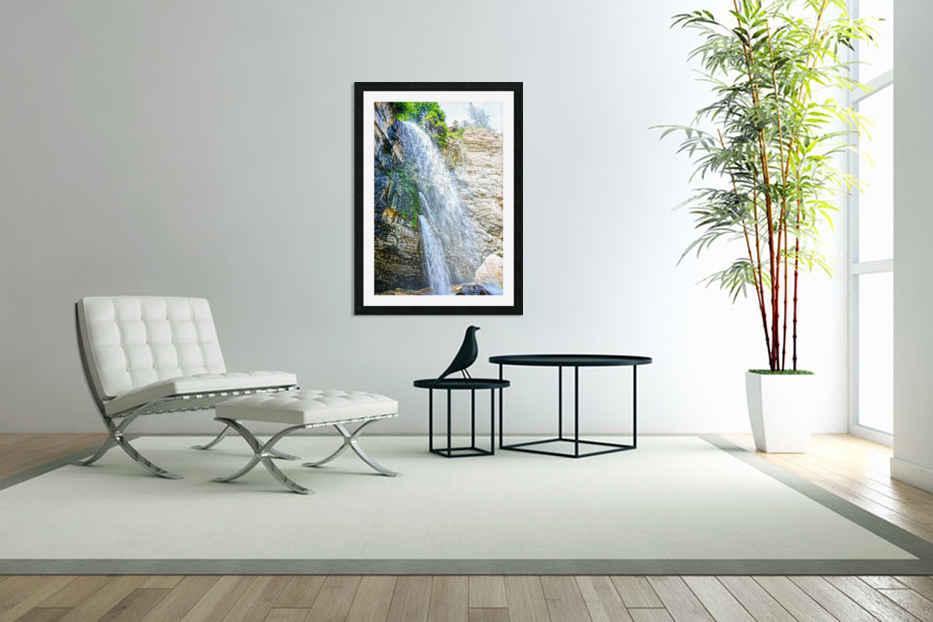 Rocky Mountain Rapids and Waterfalls 5 of 8 in Custom Picture Frame
