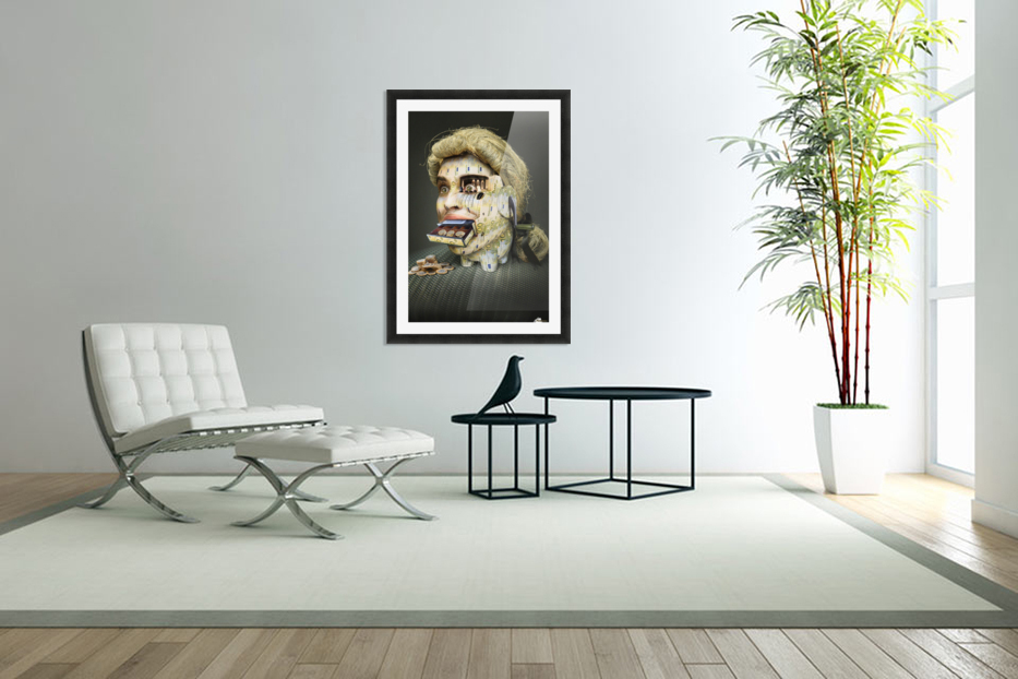 The Miser Molier by DDiArte   in Custom Picture Frame