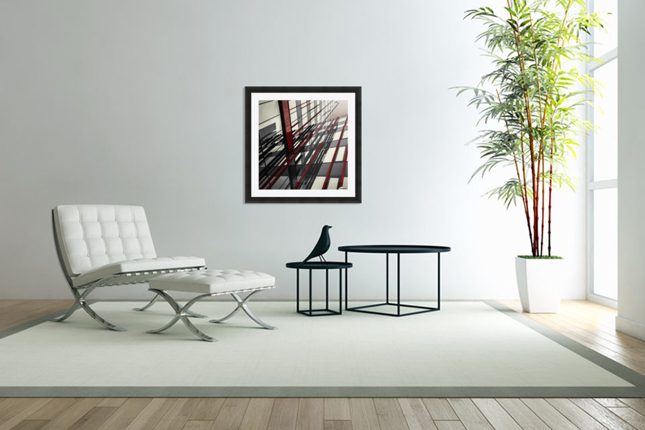 red lines by Gilbert Claes  in Custom Picture Frame