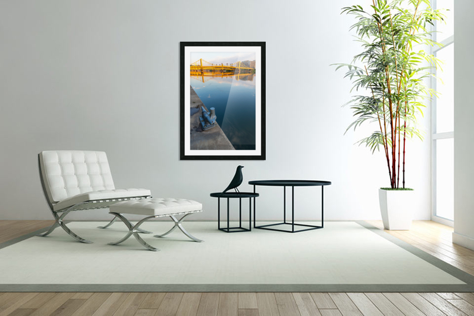 Barge Cleat ap 2877 in Custom Picture Frame