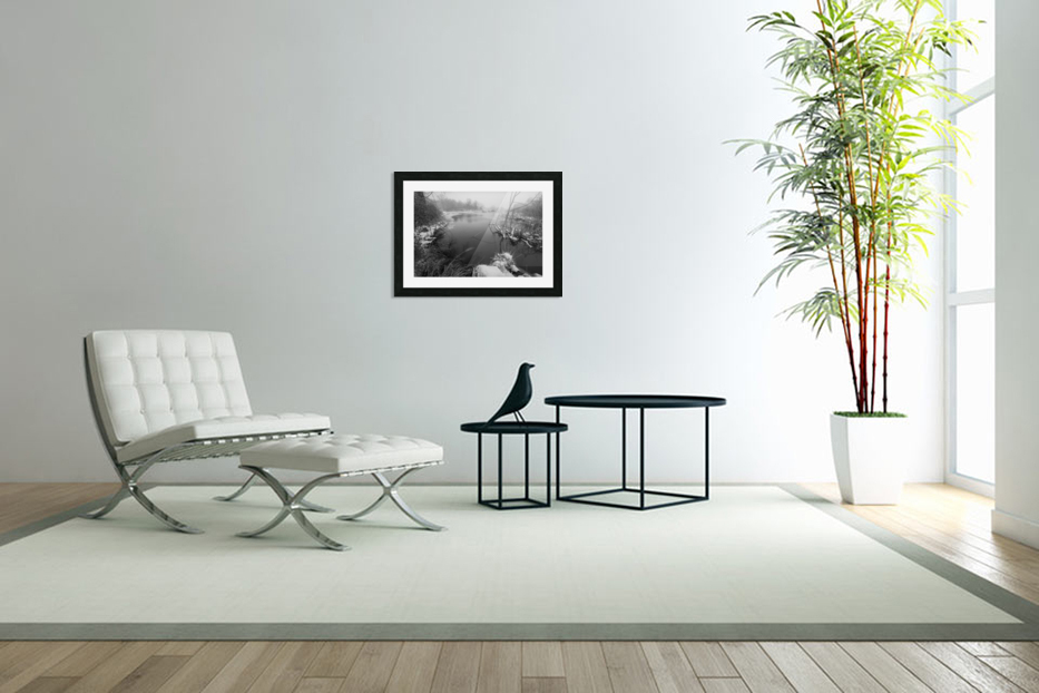 Snow Storm ap 2706 in Custom Picture Frame