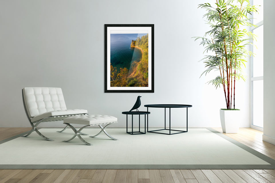 Miners Castle ap 2518 in Custom Picture Frame