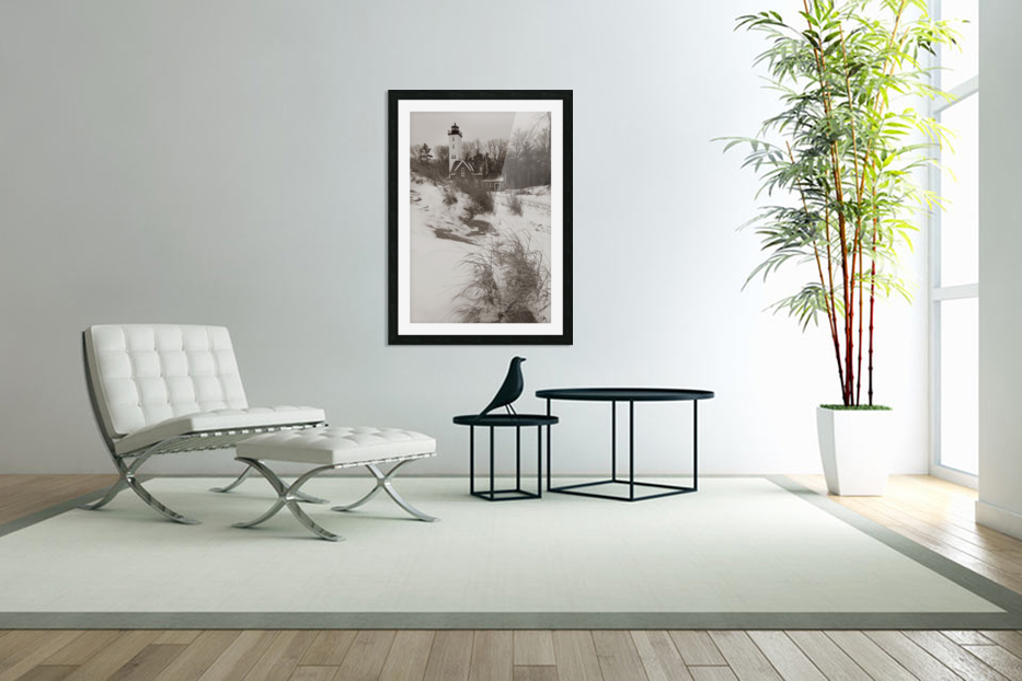 Lighthouse ap 2148 in Custom Picture Frame