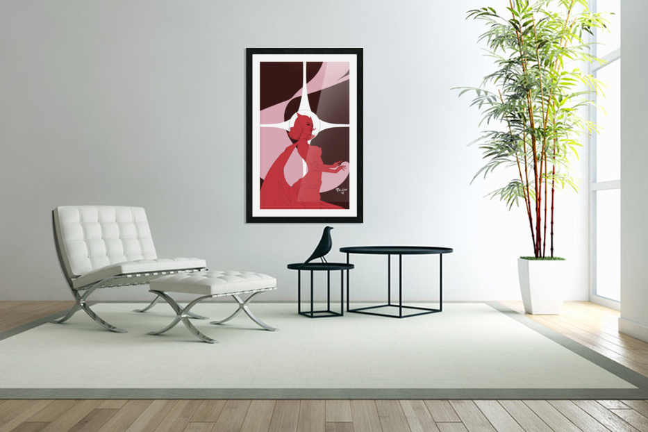 Scarlet Witch Flats in Custom Picture Frame