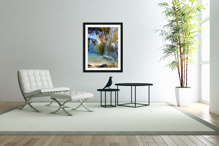 Greece Peloponnese in Custom Picture Frame