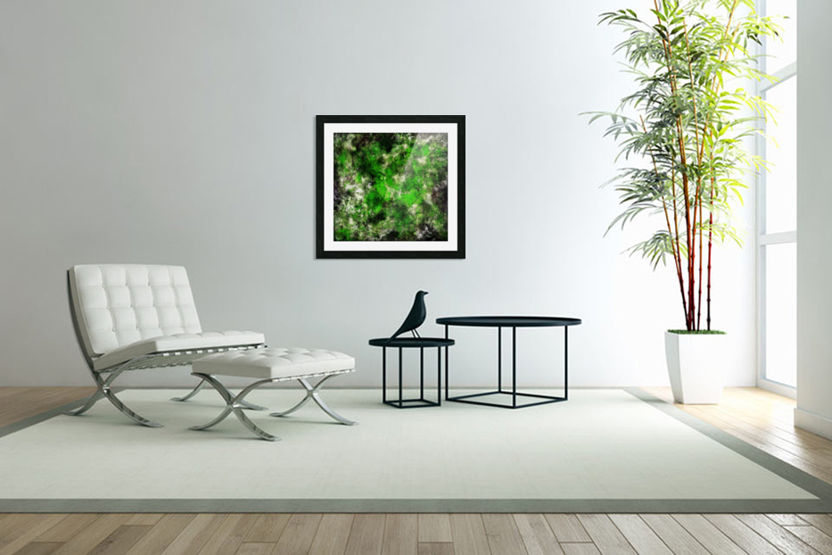 Green noise in Custom Picture Frame