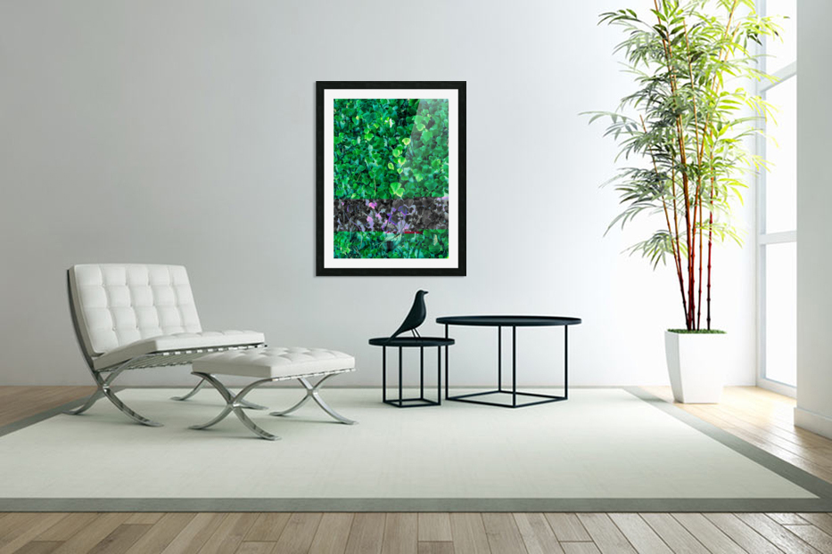 Leaves in Custom Picture Frame