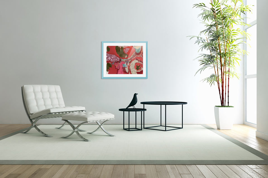Between winter and spring  in Custom Picture Frame