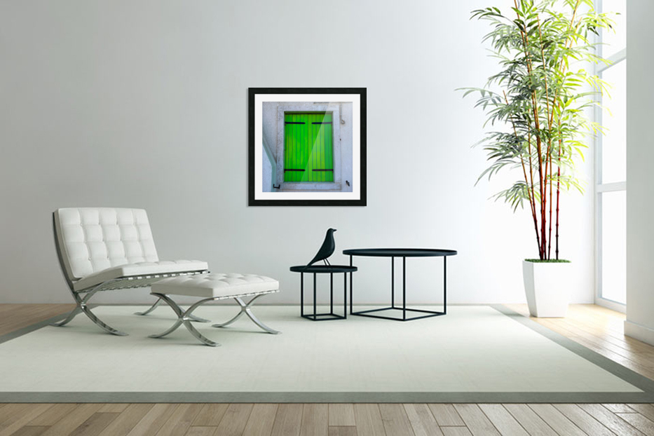 Windows of the World in Custom Picture Frame
