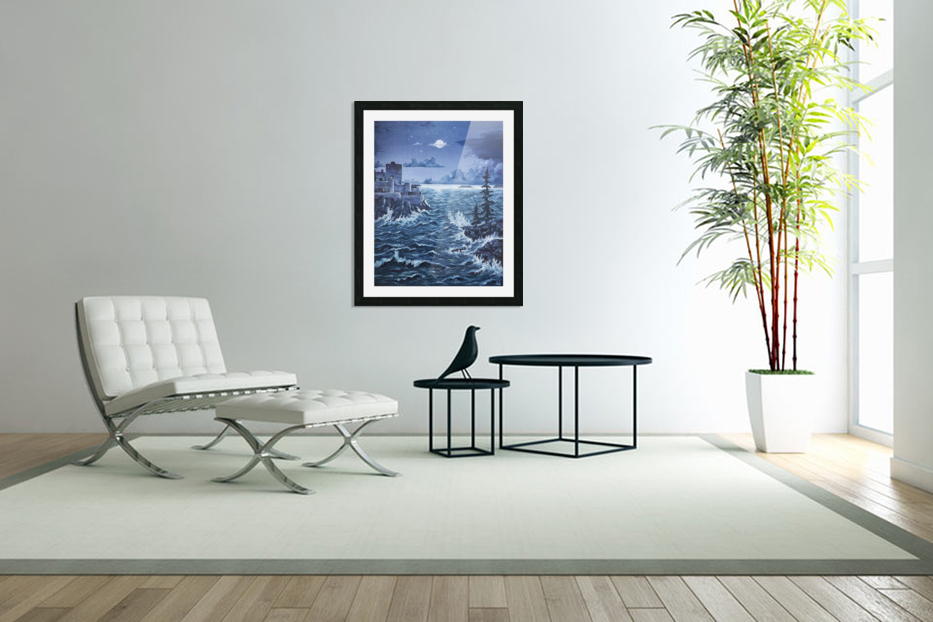 Storm in Custom Picture Frame