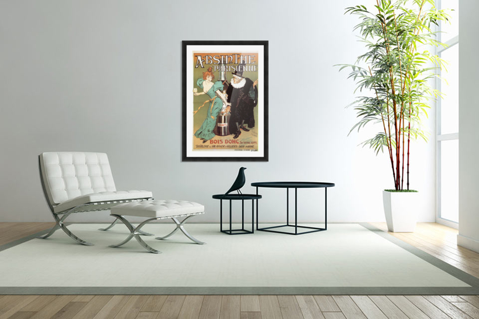Absinthe Parisienne in Custom Picture Frame