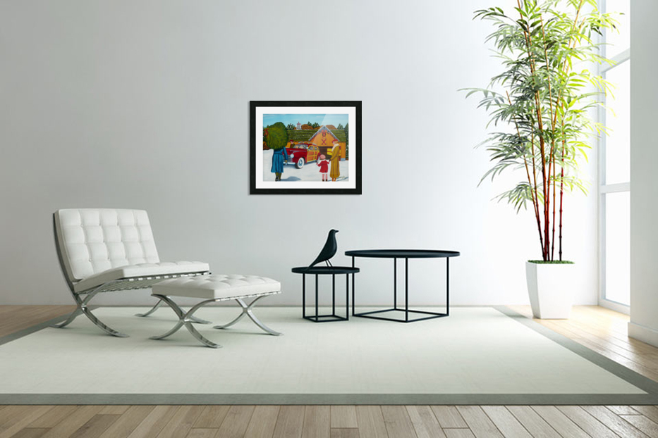 Buying The Tree in Custom Picture Frame
