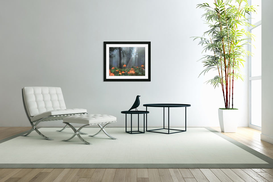 Peaceful Feeling in Custom Picture Frame