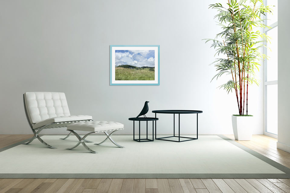 Clouds Over Parkton in Custom Picture Frame
