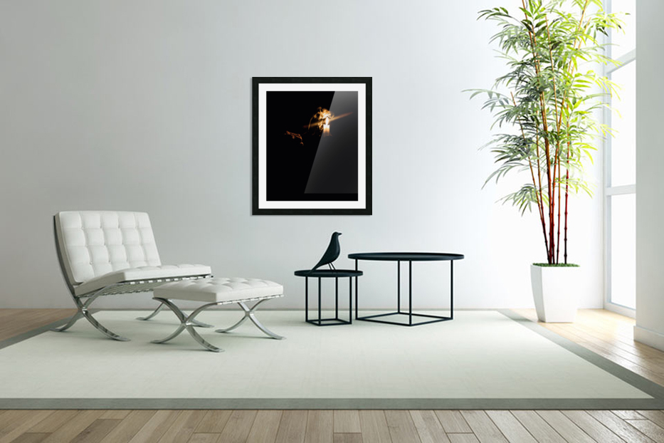 A Light in the Darkness in Custom Picture Frame