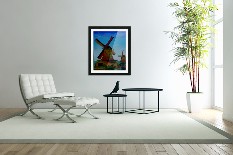 Catching The Wind in Custom Picture Frame