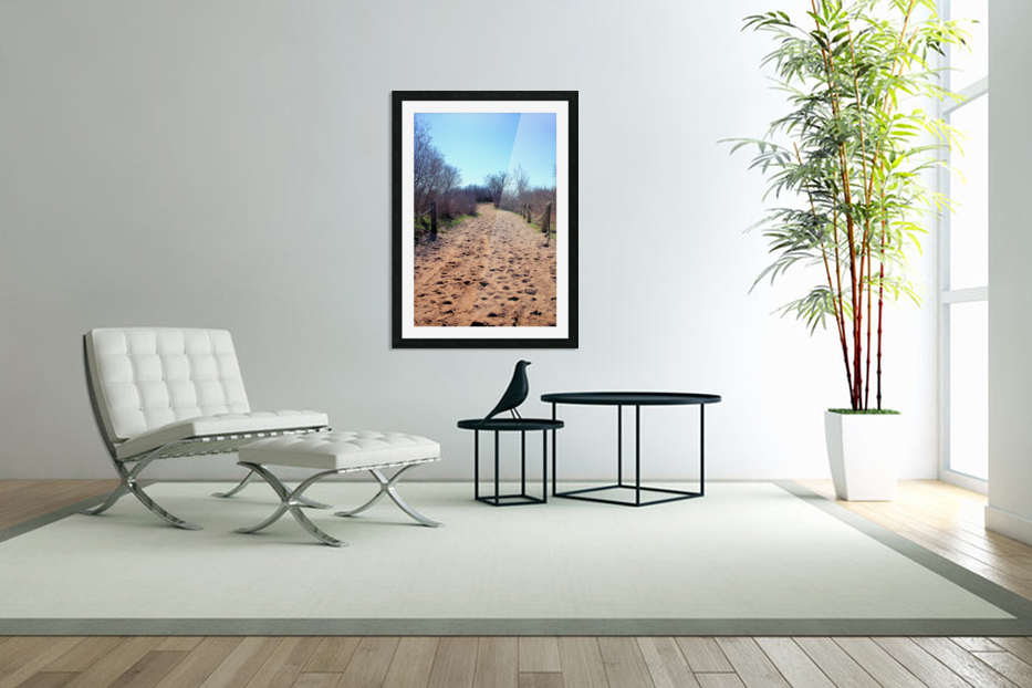 To the Beach  in Custom Picture Frame