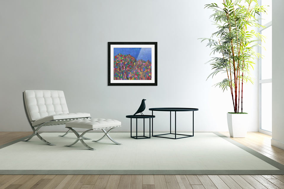 colorfulbuildings in Custom Picture Frame
