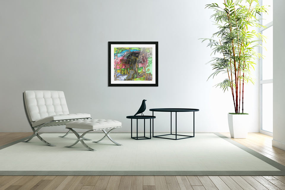 Abstractforest in Custom Picture Frame