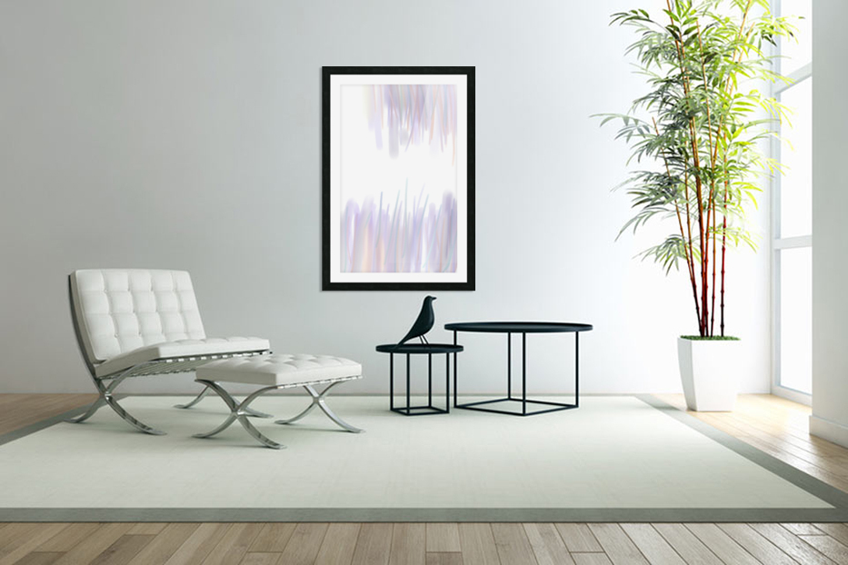 ABSTRACT PAINTING 70 in Custom Picture Frame