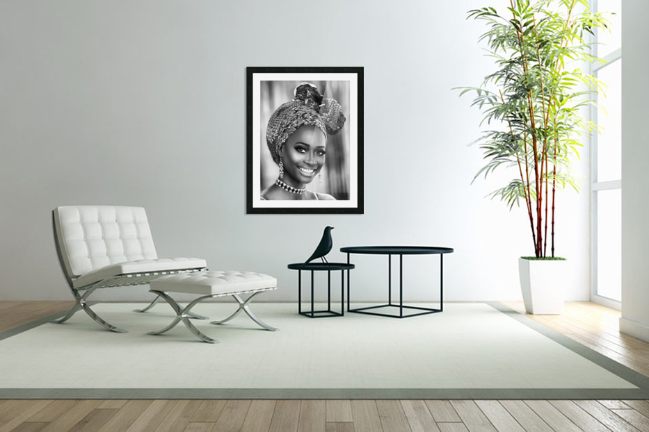 africa 1 in Custom Picture Frame
