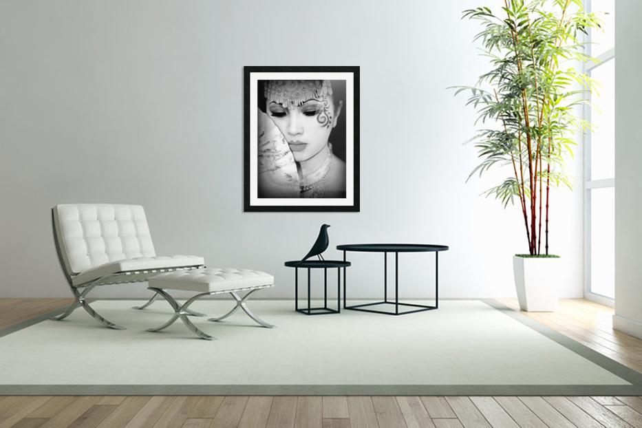 asia 1 in Custom Picture Frame