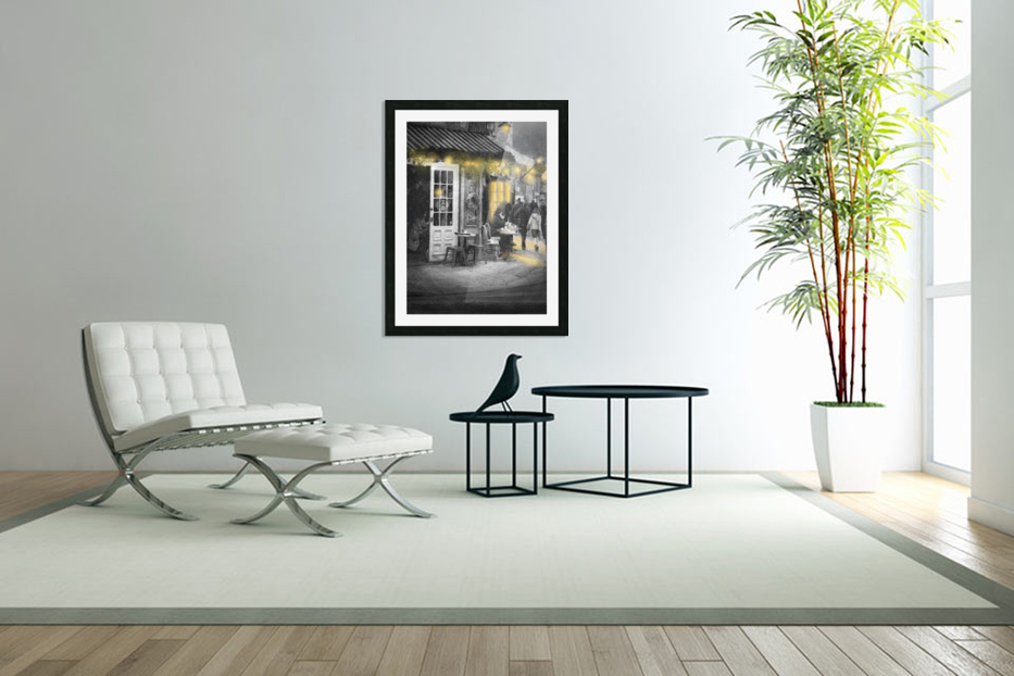 Night time is the right time in Custom Picture Frame