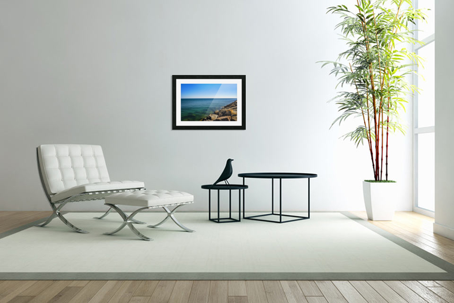 Tranquil Waters in Custom Picture Frame