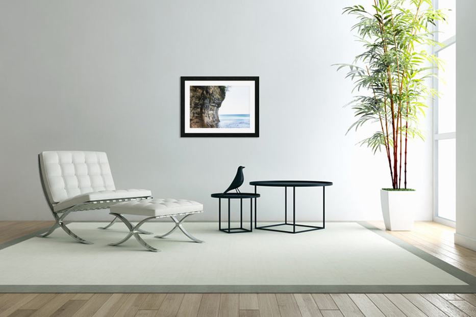 Land Meets Water in Custom Picture Frame