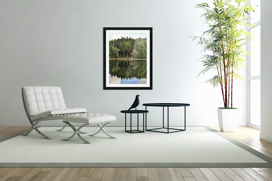 The Reflection in Custom Picture Frame