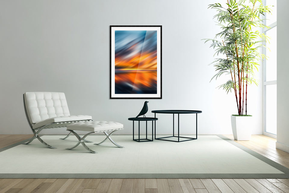 Abstract Movement XXXV in Custom Picture Frame
