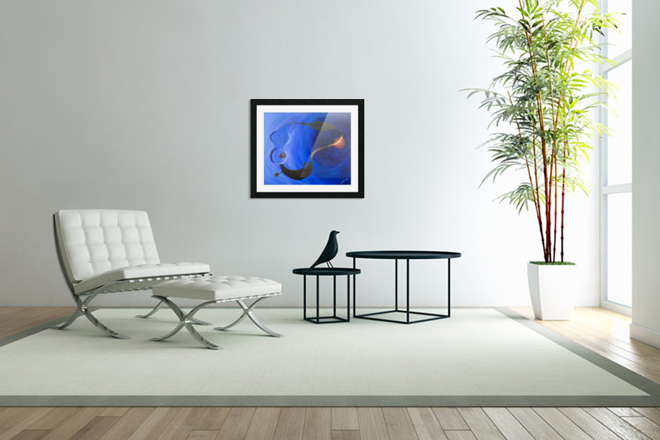 Element Harmony in Custom Picture Frame