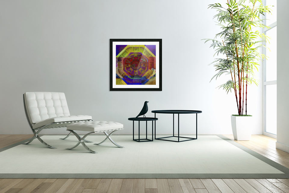 Aztec Dreaming in Custom Picture Frame