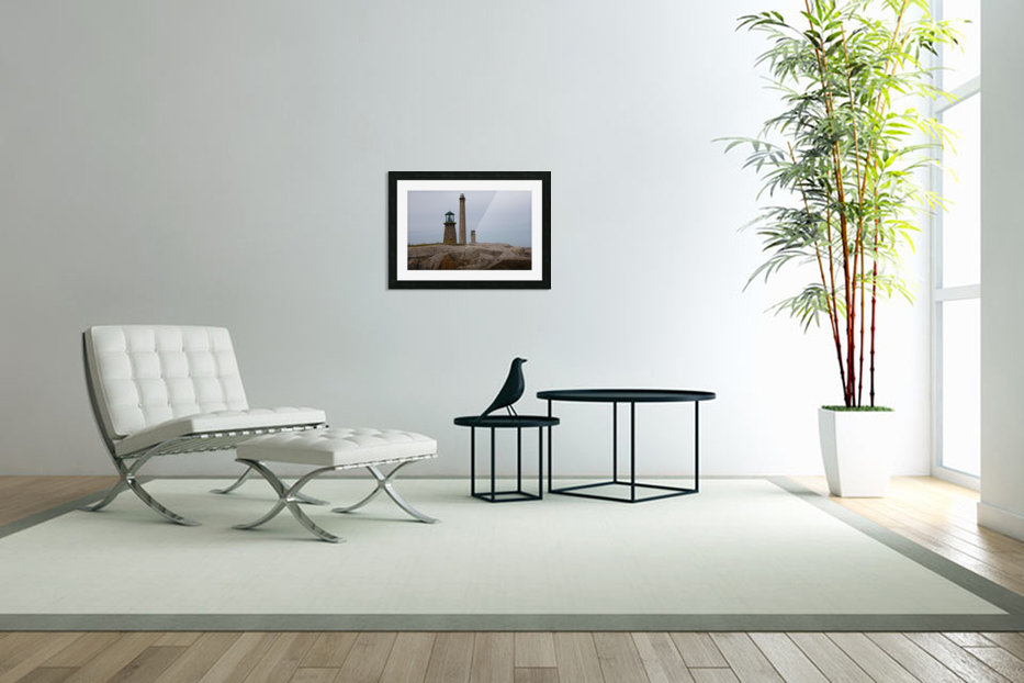 Architecture marine Light house in Custom Picture Frame